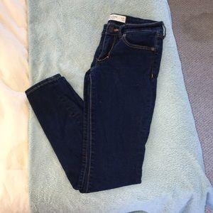 A&F darkwash jeans